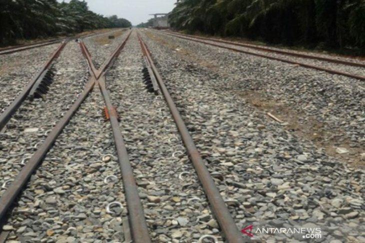Jalur kereta api Besitang Sumut - Langsa Aceh diuji coba
