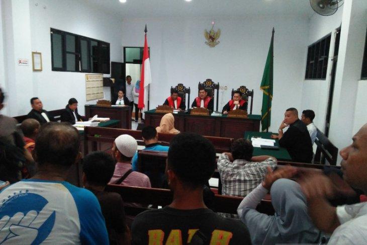 Hakim PN Ambon vonis pelaku tewaskan Samsul Lussy 11 tahun penjara