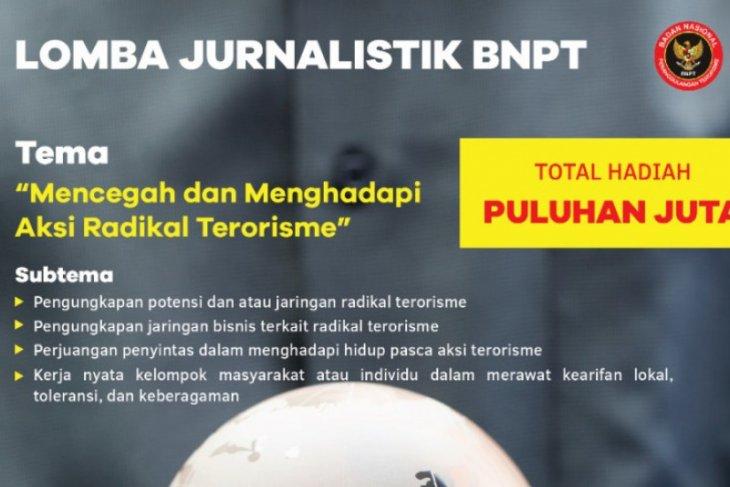 BNPT gelar lomba menulis cegah terorisme dengan hadiah puluhan juta