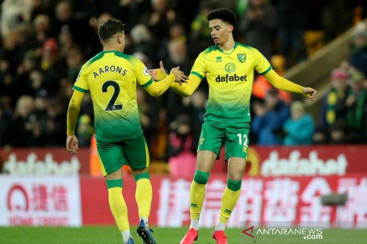 Liga Inggris, tim juru kunci Norwich bungkam Leicester City 1-0