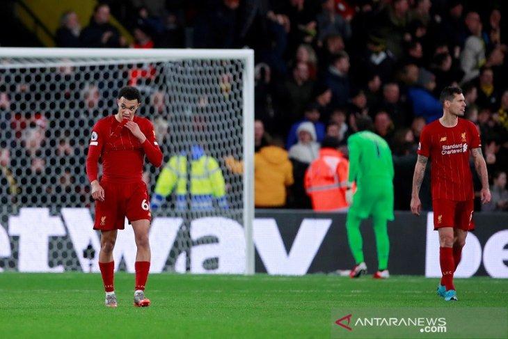 Liga Inggris, Liverpool telan kekalahan perdananya di markas Watford
