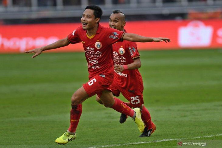 Pemain Persija kampanyekan #AyoMainLagi sepak bola