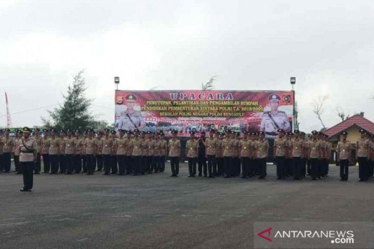 23 siswa lulusan SPN Bukit Kaba ditarik Mabes Polri
