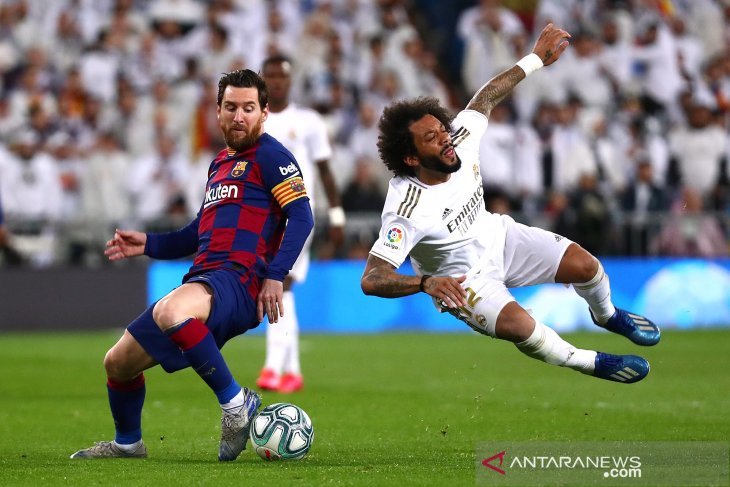 El Clasico, Barca takluk 0-2 atas Real Madrid