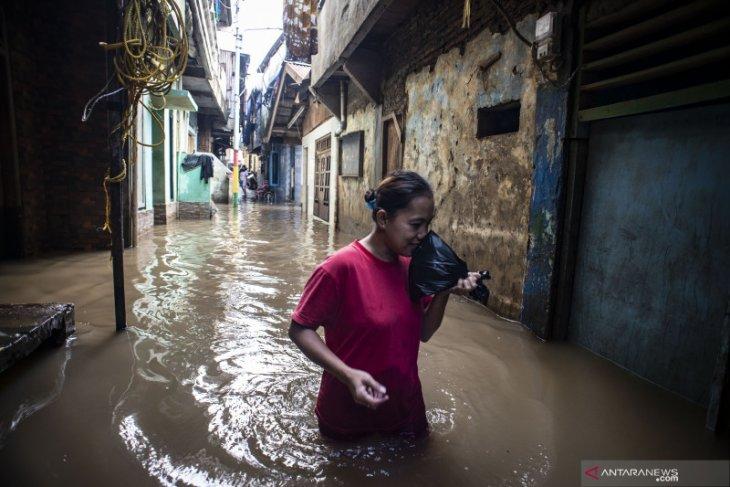 Di Jakarta Timur, mayoritas kawasan terendam banjir telah surut