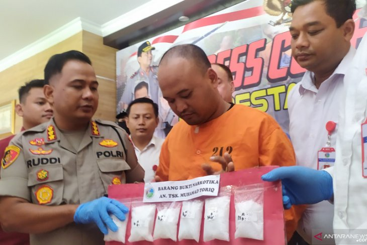 Sopir online pengedar sabu ditangkap polisi