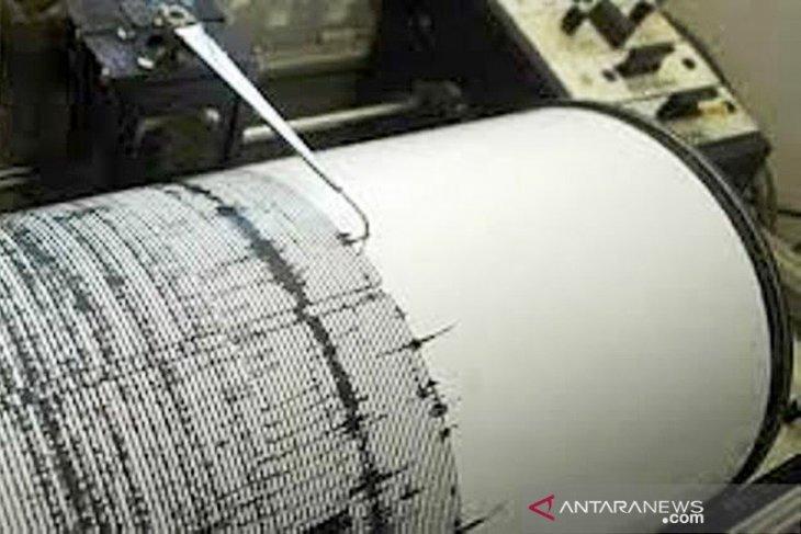Gempa dengan magnitudo 5,8 guncang Maluku Utara