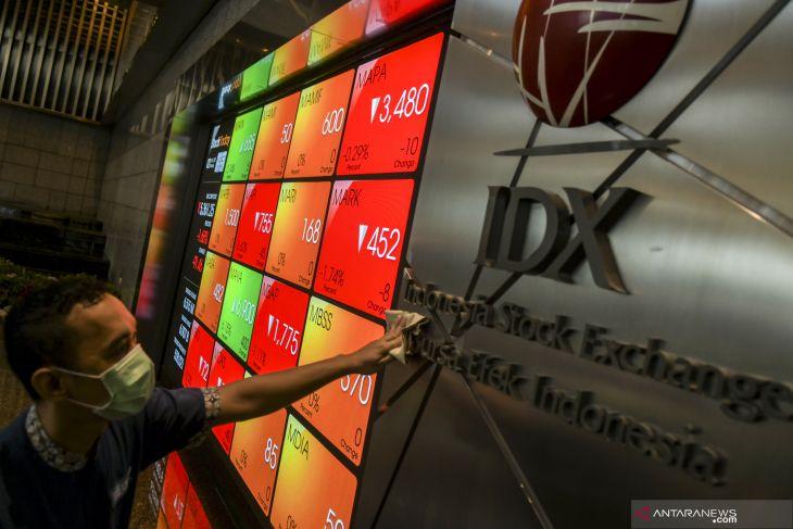 IHSG dibuka melemah ikuti bursa saham Asia