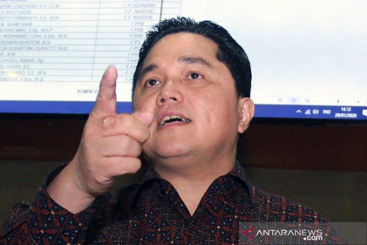 Erick Thohir minta proyek kereta cepat Jakarta-Bandung dievaluasi