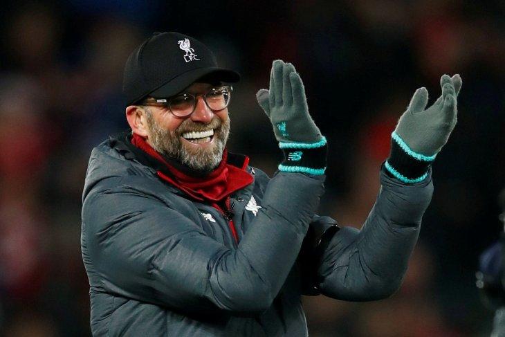 Juergen Klopp tertawakan anggapan Liverpool batal juara liga karena corona