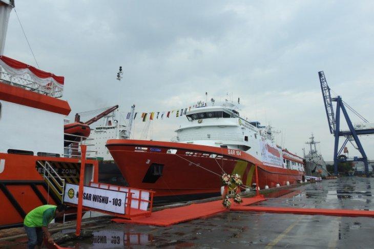 Basarnas miliki dua kapal SAR modern baru