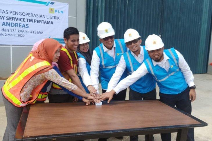 Tambah daya listrik cukup sehari, PT Borneo Oksigen tingkatkan kapasitas produksi