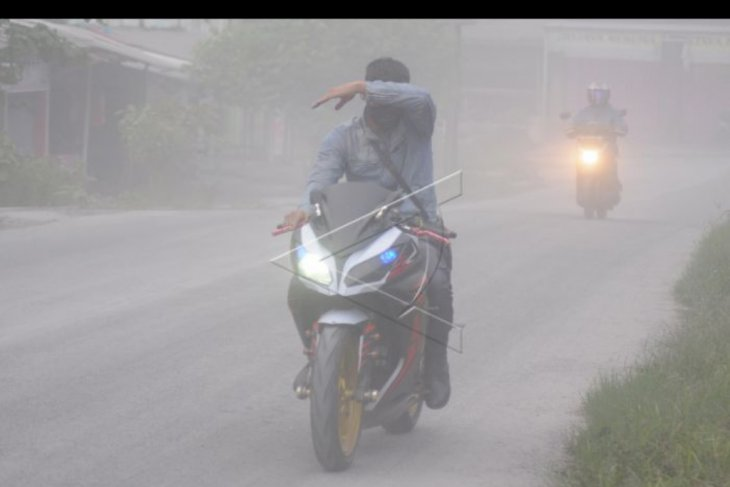 Paparan hujan abu Merapi