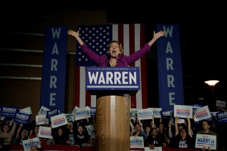 Berita dunia - Elizabeth Warren mundur dari pertarungan capres Demokrat
