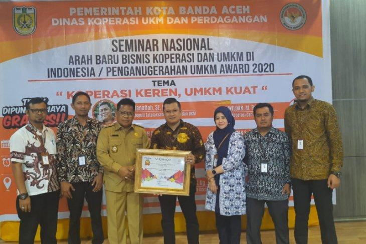 PNM Cabang Aceh raih anugerah UMKM award 2020