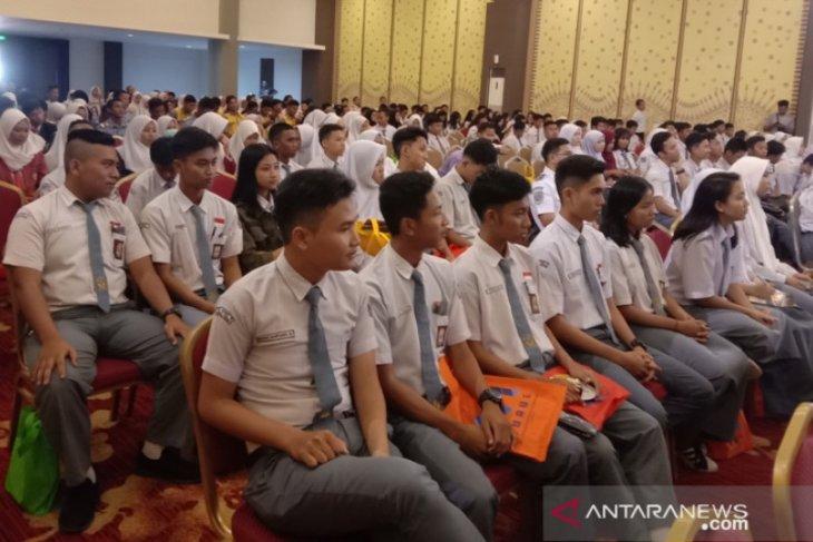 Siswa SMK se-Kota Pangkalpinang ikuti sosialisasi Kemenhub