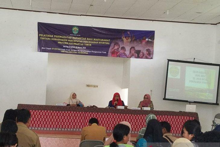 DPMPD Kaltim libatkan masyarakat desa pencegahan stunting