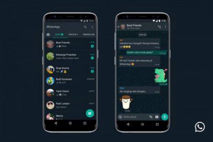 WhatsApp mode gelap akhirnya hadir di Android dan iOS