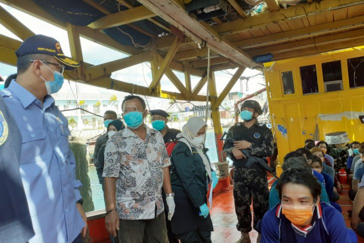 Fisheries Ministry detains five foreign fishing boats in Natuna