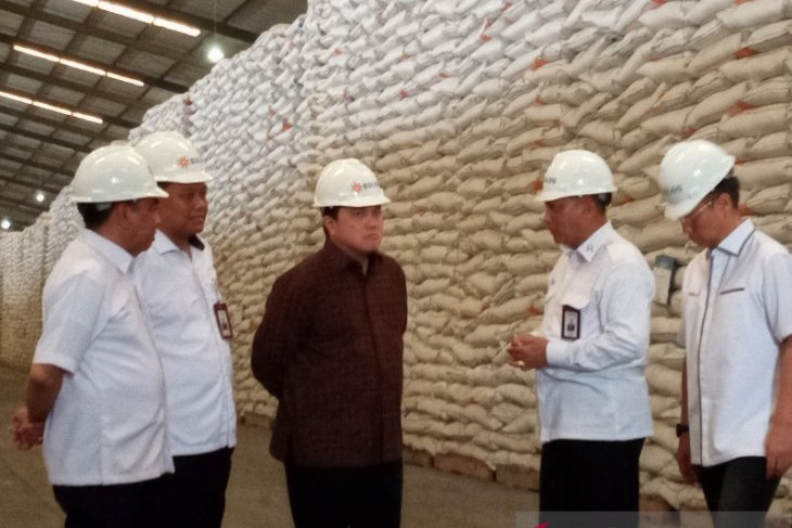 Minister Thohir ensures rice stocks to suffice until Eid al-Fitr