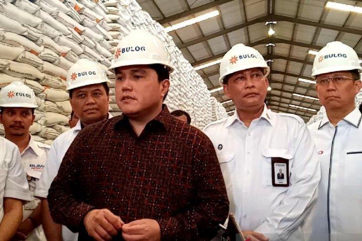 Menteri BUMN: perdagangan beras jangan dimafiakan
