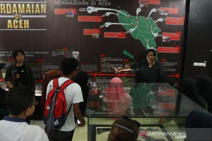 Mahasiswa Timor Leste belajar tentang konflik dan perdamaian Aceh
