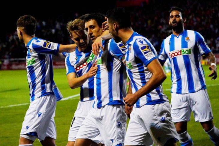 Berita dunia - Real Sociedad akhiri mimpi Mirandes untuk ke final Copa del Rey