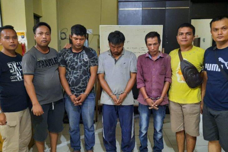 Polres Tanjung Balai amankan tiga warga pengedar narkotika
