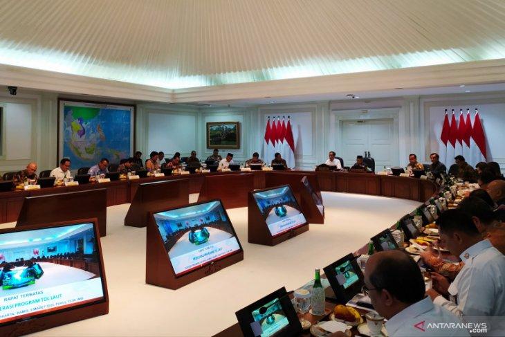Sea toll road service contributes 0.3 percent to GDP: Jokowi