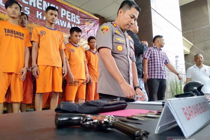 14 pencuri sepeda motor di Karawang ditangkap polisi