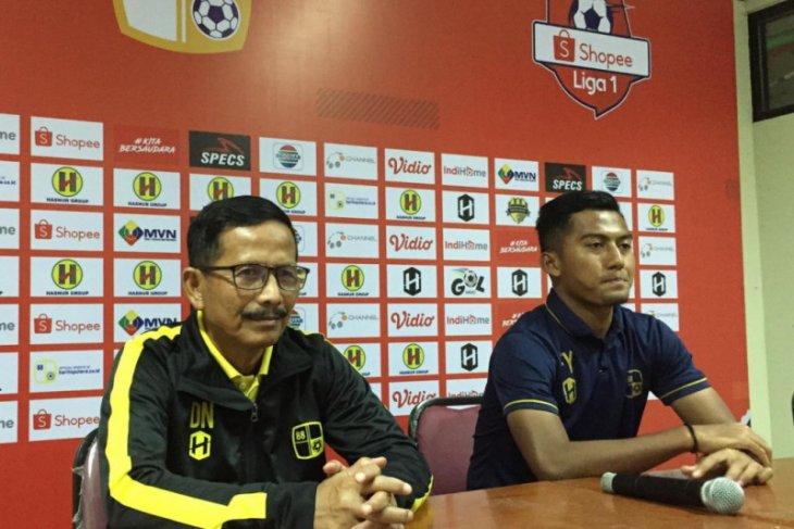 Barito hadapi lawan tangguh Bali United di laga kandang perdana