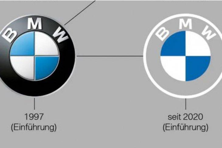 BMW ubah logo