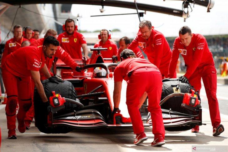 Formula 1: Ferrari janji dukung penuh Vettel hingga akhir musim