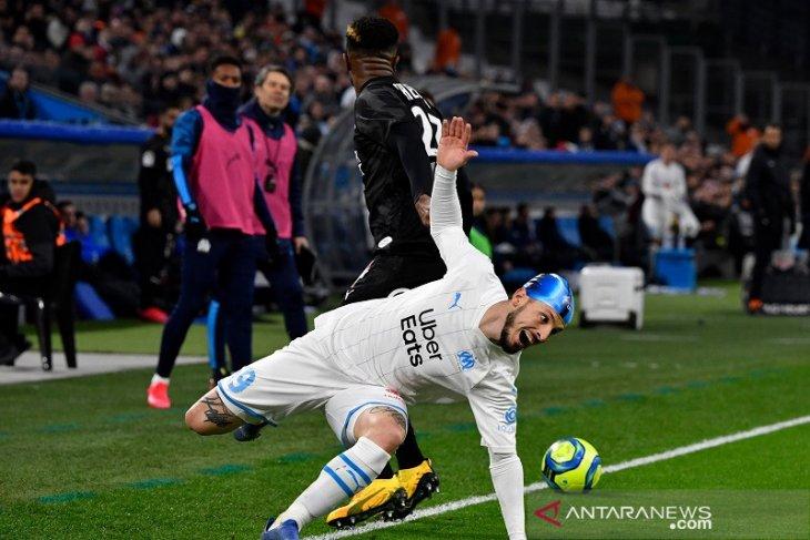 Liga Prancis, Marseille kehilangan dua poin akibat gol menit akhir Amiens