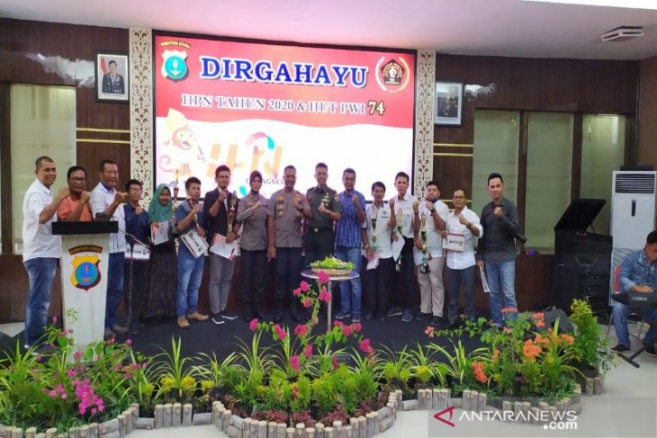 PWI Tabagsel apresiasi Kapolres inisiasi syukuran HPN 2020