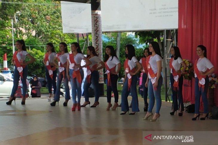 Dinas Parbud Simalungun gelar Pemilihan Putri Pariwisata 2020 di Parapat