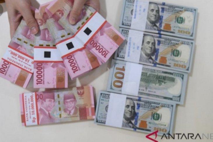 Kembali melemah, rupiah hari ini menjadi Rp15.215 per dolar AS