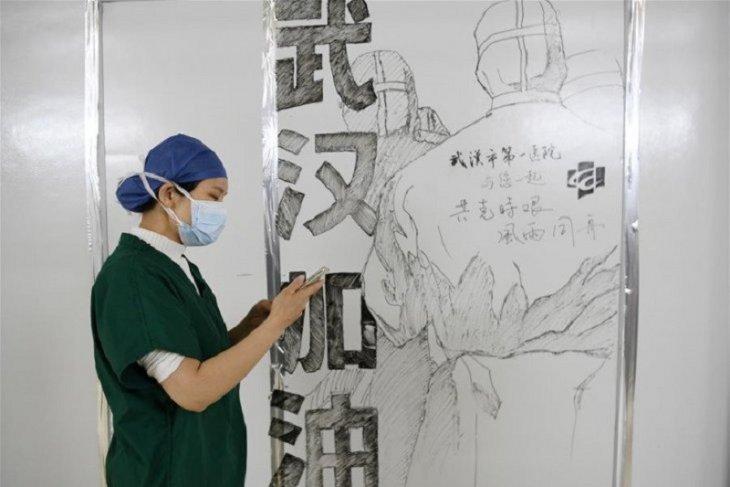 China mencatat ada 40 kasus tambahan virus corona