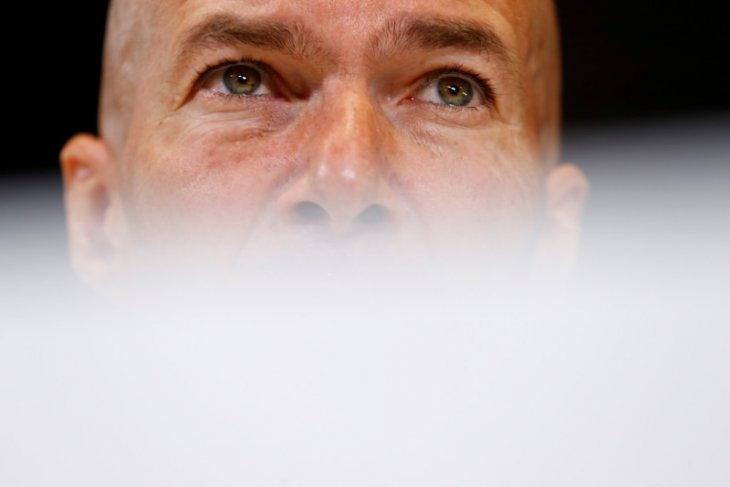 Zidane masih tepis kepindahan ke Juve