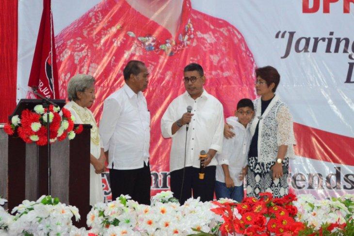 Mercy Barends sampaikan terima kasih kepada masyarakat Maluku