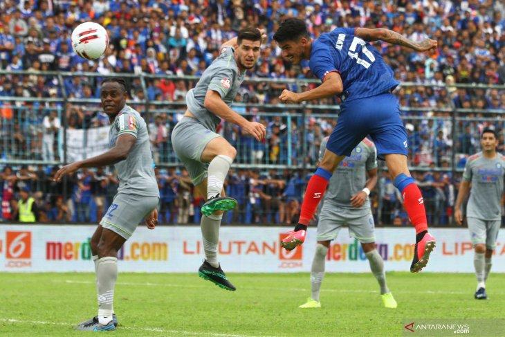 Liga 1: Arema vs Persib, Singo Edan tumbang di kandang