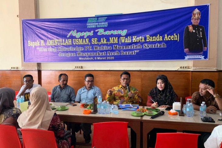 Wali kota Banda Aceh transfer ilmu keuangan syariah di Aceh Barat