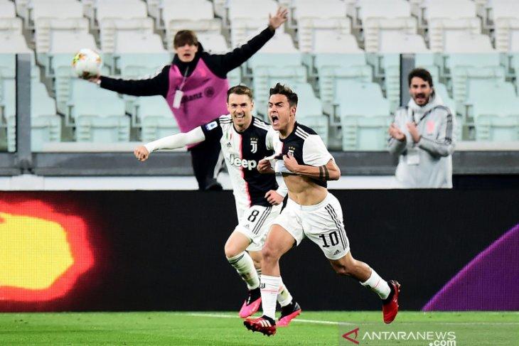 Liga Italia, Juve kembali rebut pucuk klasemen usai menangi laga tunda kontra Inter