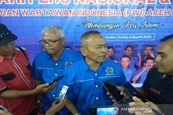 Ketua PWI: Wartawan bawa pena bukan bawa meteran