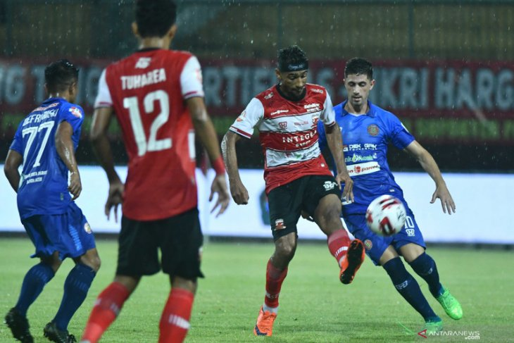 Madura United tidak setuju Liga 1 dilanjutkan