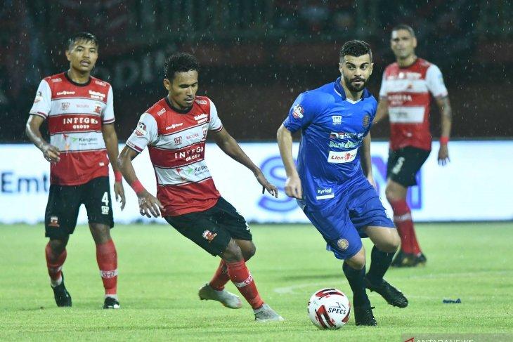 Madura United setuju liga dilanjutkan jika pandemi sudah mereda