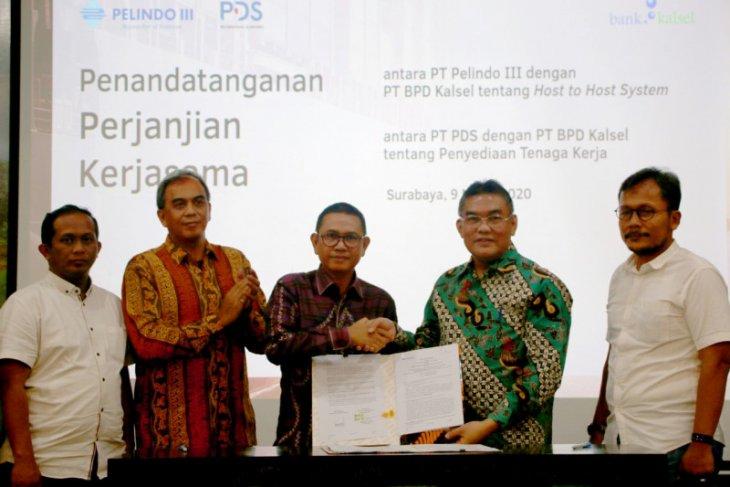 Bank Kalsel dan Pelindo III perkuat kerja sama