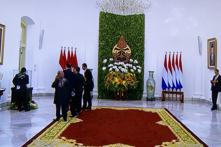 Istana Kepresidenan Bogor siap menyambut Raja-Ratu Belanda