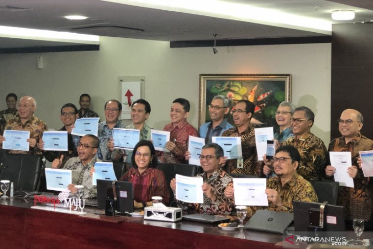 Menkeu Sri Mulyani laporkan SPT Pajak 2019