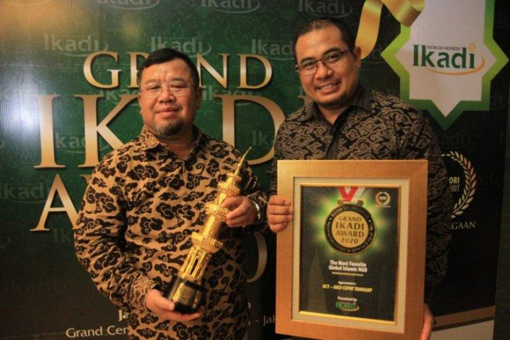 ACT Raih Penghargaan NGO Terfavorit dari Ikadi